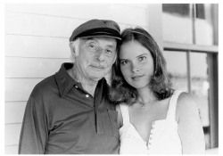 Stanley Kunitz and Carolyn Forché.