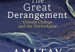 The cover to The Great Derangement: Climate Change and the Unthinkable by Amitav Ghosh