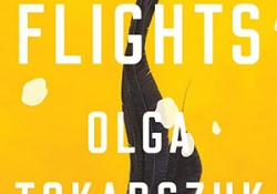 The cover to Flights by Olga Tokarczuk