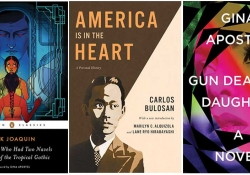 The covers for three titles from the Philippine-American reading list