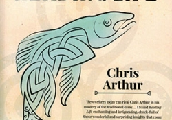 The cover to Reading Life by Chris Arthur