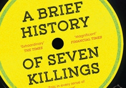 The cover to Marlon James A Brief History of Seven Killings