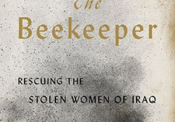 The cover to The Beekeeper: Rescuing the Stolen Women of Iraq by Dunya Mikhail
