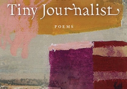 The cover to The Tiny Journalist by Naomi Shihab Nye