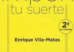 The cover to Impón tu suerte by Enrique Vila-Matas