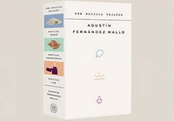 The slipcover to The Nocilla Trilogy by Agustín Fernández Mallo