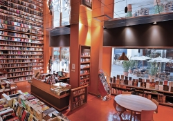 The interior of Librería Ulíses in Santiago de Chile