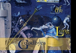 The cover to Night of the Long Goodbyes by Erik Martiny