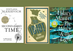 The covers to three books from the Summer Reads list