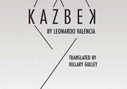 The cover to Kazbek by Leonardo Valencia