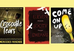 The covers to three books from the list below