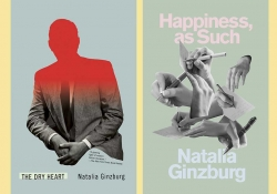 The cover to Natalia Ginzburg's book The Dry Heart and Happiness, as Such