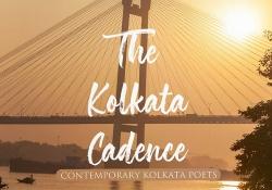 A detail of the cover to The Kolkata Cadence: Contemporary Kolkata Poets