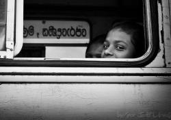 """Judit Urquijo Pagazaurtundua, """"Estación de buses,"""" Sri Lanka, September 2011"""