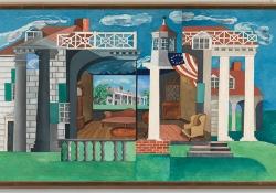Herman Trunk, Jr.'s painting Mount Vernon