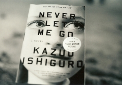 Never Let Me Go by Kazuo Ishiguro. Photo by Tanasha Pina