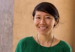 Tenzin Dickie, smiling