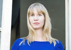 A photograph of translator Megan McDowell