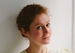 A photograph of translator Yasmine Seale