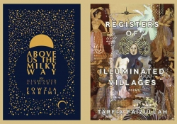 The covers to Above the Milky Way and the Registers of Illuminated Villages