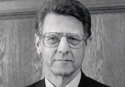 A black and white photo of WLT contributor Theodore J. Ziolkowski