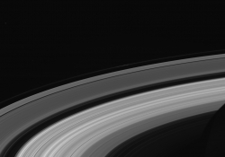 "This view of Saturn's rings from the ""ringscape finale"" series was among the last images Cassini sent back to Earth (September 13, 2017) / Courtesy of NASA/JPL-Caltech/Space Science Institute"