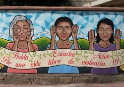 Mural in Cochabamba, Bolivia / Photo by proyecto mARTadero