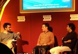Nathan Englander and Etgar Keret Nathan Englander and Etgar Keret at the Edinburgh International Book Festival