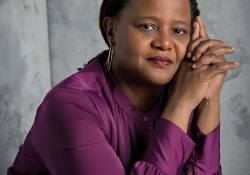 A photograph of Edwidge Danticat