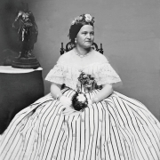 Mary Todd Lincoln. Photo: Everett Collection Historical / Alamy stock photo
